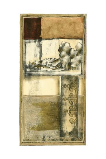 Printed Nostalgia II-Jennifer Goldberger-Art Print