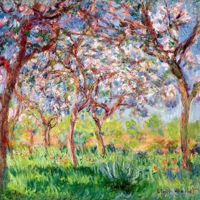 Printemps a Giverny, 1903-Claude Monet-Giclee Print