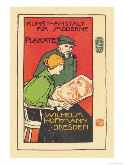 Printers of Modern Posters-Emil Paul Fischer-Art Print
