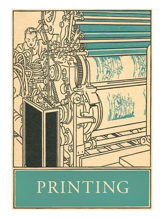 Printing Poster--Art Print
