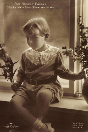 Prinz Alexander Ferdinand Als Kind, Liersch 7763--Giclee Print