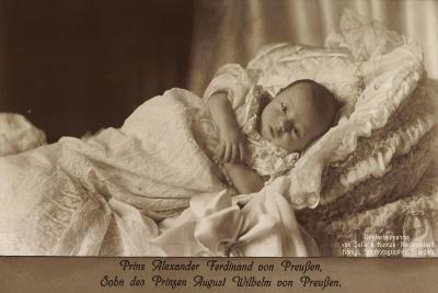 Prinz Alexander Ferdinand Von Preußen Als Baby--Giclee Print