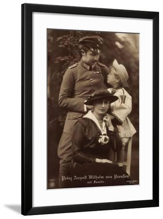 Prinz August Wilhelm Von Preußen, Familie, Npg 5651--Framed Giclee Print