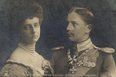 Prinz Eitel Friedrich U Braut Sophie Charlotte--Giclee Print