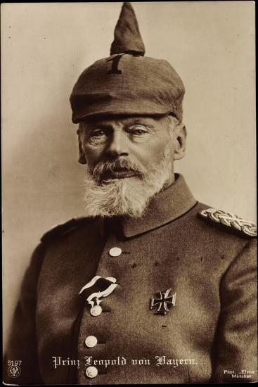 Prinz Leopold Von Bayern, Npg 5797, Spitzhut--Giclee Print