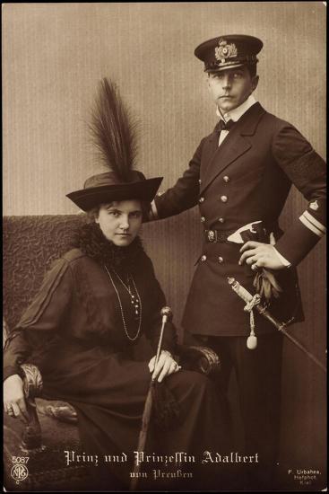 Prinz Und Prinzessin Adalbert Von Preu?en, Npg 5087--Giclee Print