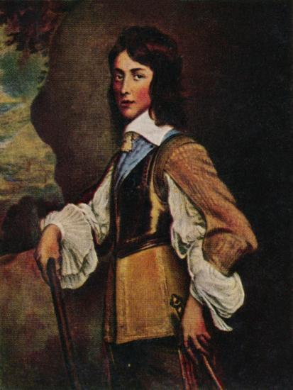 'Prinz Wilhelm II. V. Naffau=Oranien 1626-1650. - Gemälde von Hanemann', 1934-Unknown-Giclee Print