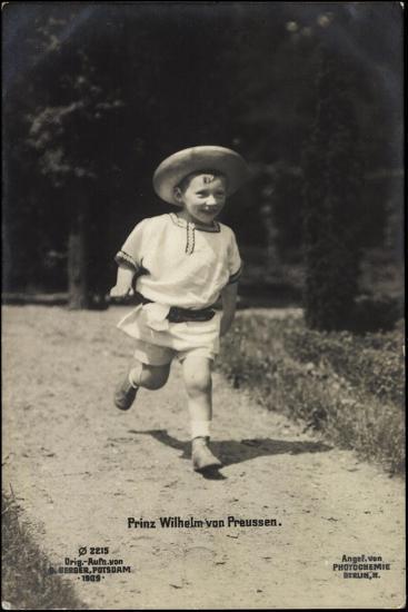Prinz Wilhelm Von Preußen, Photochemie Berlin 2215--Giclee Print