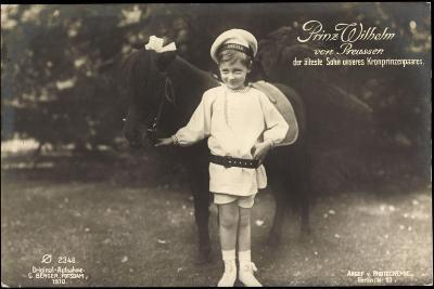 Prinz Wilhelm Von Preußen, Pony, Photochemie 2346--Giclee Print