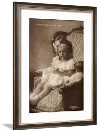 Prinzessin Cecilie Von Preußen Mit Schleife--Framed Giclee Print