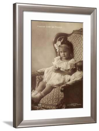 Prinzessin Cecilie Von Preußen, Sessel, Liersch 7948--Framed Giclee Print