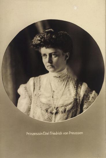Prinzessin Eitel Friedrich Von Preußen, Portrait--Giclee Print