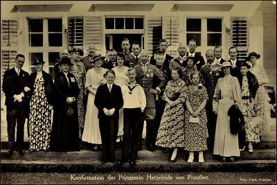 Prinzessin Herzeleide Von Preußen, Konfirmation--Giclee Print