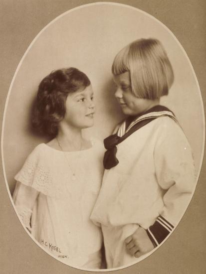 Prinzessin Stefanie, Prinz Rudi, Windisch Graetz--Giclee Print