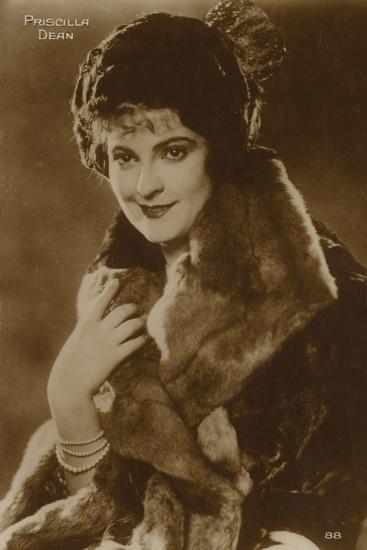 Priscilla Dean, American Stage and Film Actress--Photographic Print