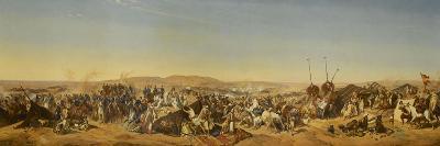 Prise de la Smalah d'Abd El-Kader-Horace Vernet-Giclee Print