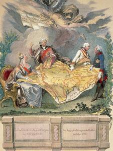 Allegory of the First Division: Catherine Ii, Stanislaus Poniatowski by Prisma Archivo
