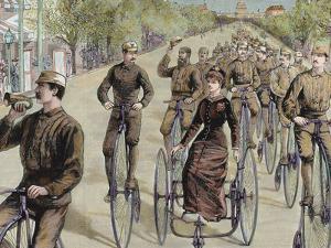 American League Cycles in Pennsylvania Avenue. Mid May 1884, Washington, Usa by Prisma Archivo