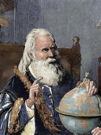 Galileo Galilei (1564-1642). Physicist, Italian Mathematician and Astronomer