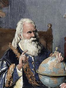 Galileo Galilei (1564-1642). Physicist, Italian Mathematician and Astronomer by Prisma Archivo
