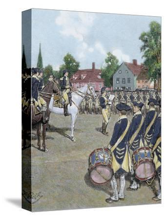 General Washington's Army in New York on July 9, 1776 by Howard Pyle, 1892