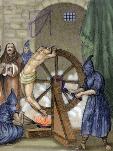 Inquisition. Instrument of Torture, Wheel of Fortune by Prisma Archivo