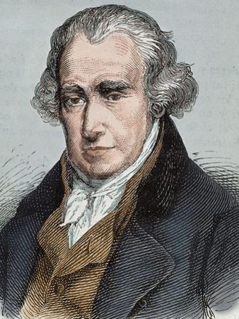 James Watt (Greenok 1736-Heathfield, 1819). Scottish Inventor and Mechanical Engineer