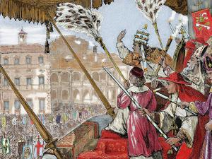 Leo X (1475-1521). Florentine Pope (1513-1521), Named Giovanni De Medici. Son of Lorenzo De Medici by Prisma Archivo