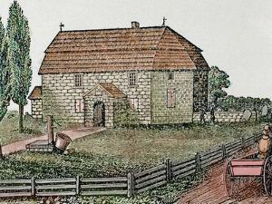 Lutheran Church, Built in 1743, Trappe, Usa by Prisma Archivo
