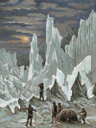 Roald Engebrecht Amundsen (Borge, 1872, in the Arctic, 1928). Norwegian Explorer by Hildibrand