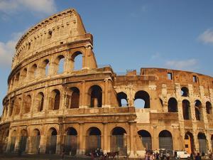 Roman Art, the Colosseum or Flavian Amphitheatre, Rome, Italy by Prisma Archivo