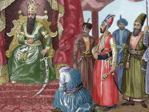 Sultan Welcoming the Council Members in the Courtroom Topkapi Palace, Istanbul, Turkey by Prisma Archivo