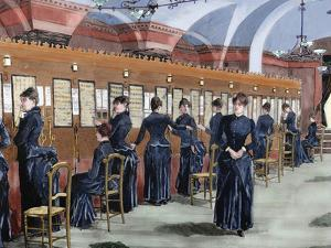 Telephone Service in Madrid (1886) by Prisma Archivo