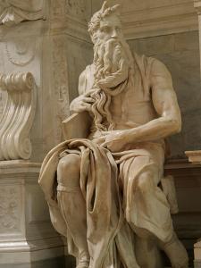 Tomb of Pope Julius Ii. Church of Saint Pietro in Vincoli, Rome, Italy by Prisma Archivo