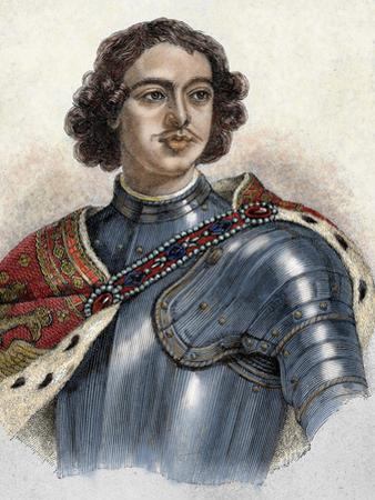 Tsar of Russia (1682-1725). He Was Proclaimed Tsar after the Death of His Brother Fedor Iii (1682)