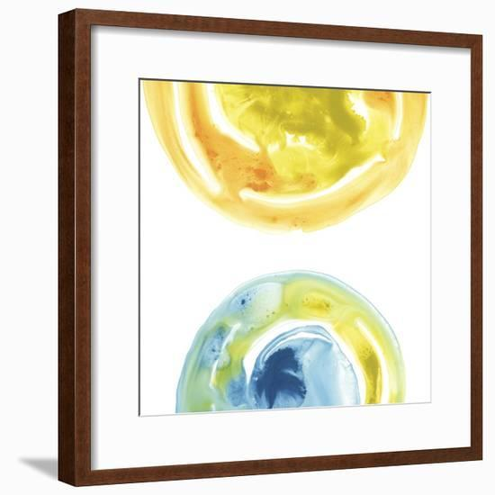 Prisma Circuit IV-June Erica Vess-Framed Art Print