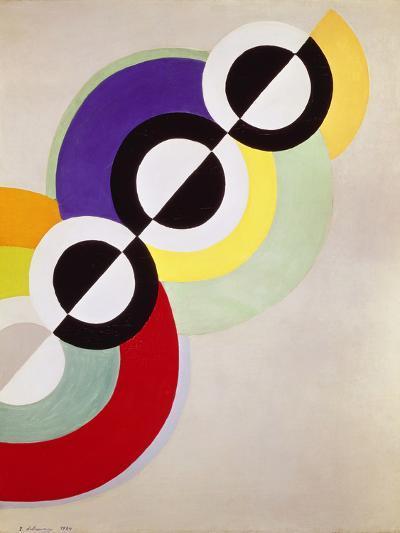 Prismen, 1934-Robert Delaunay-Giclee Print