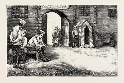 Prison Gates, Kharsakov, 1890--Giclee Print
