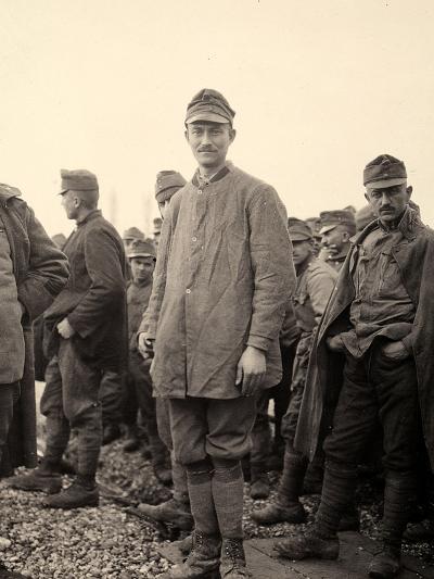 Prisoner at Bagnaria Arsa, Udine, During World War I-Ugo Ojetti-Photographic Print