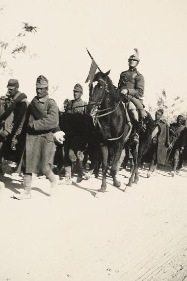 Prisoners During WWI-Ugo Ojetti-Photographic Print