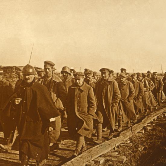 Prisoners of war, c1914-c1918-Unknown-Photographic Print