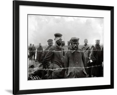 Prisoners of War, World War One, 1917-Jacques Moreau-Framed Photographic Print