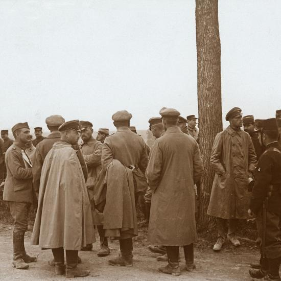 Prisoners, Route de l'Epine, France, c1914-c1918-Unknown-Photographic Print