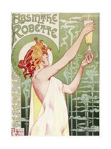 Absinthe Robette Poster by Privat Livemont