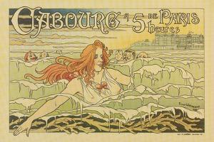 Cabourg A 5 Heures De Paris by Privat Livemont