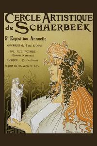 Cercle Artistique De Schaerbeek, Exposition by Privat Livemont