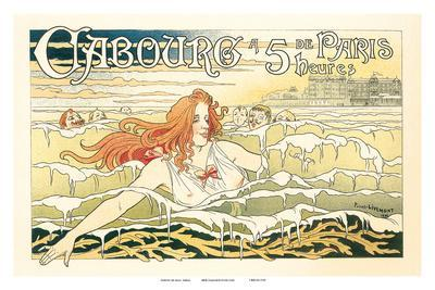 Paris Swimmers, Art Nouveau, La Belle Époque