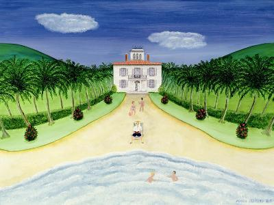 Private Beach-Mark Baring-Giclee Print