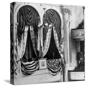 Private Box in Ford's Theater, Around Time President Lincoln Was Assassinated by John Wilkes Booth