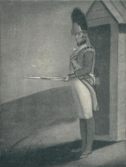 'Private, Grenadier Guards (1760), 1760 (1909)-Unknown-Giclee Print